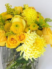 DSCN2278 (AimStudios) Tags: wedding yellow room gray yellowroses 1520 solidago craspedia yellowdahlias yellowsprayroses yellowfootballmums yellowbuttonpompons yellowgardenroses