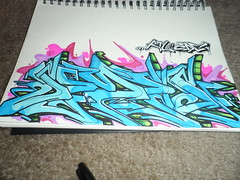 (EveryDayCriminals) Tags: graffiti blackbook