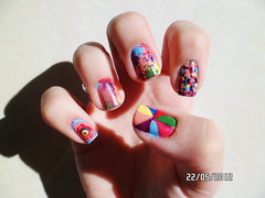 Colors (anacarolinaaf) Tags: colors nailart unhascoloridas unhasartisticas colorsnailart