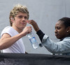 Niall Horan of One Direction Party in the Park 2012 at Temple Newsam Park Leeds, England