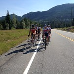 Mike Janyk and Ben Chaddock on the road with the BC Team men