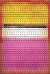 Lego Rothko (William Keckler) Tags: light minimalism variation markrothko interpretation rothkoesque abstractexpressionism legopainting rothkolego legogrph