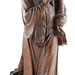 309. Wood Carved Scholar Figural