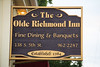 "olde richmond inn sign • <a style=""font-size:0.8em;"" href=""http://www.flickr.com/photos/85633716@N03/7845690160/"" target=""_blank"">View on Flickr</a>"