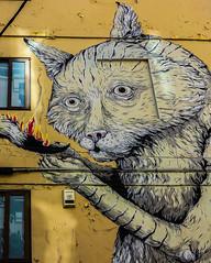 A Painted Wall ( Valencian back-street) Valencia  (Canon PowerShot G1X) (1 of 1) (markdbaynham) Tags: wall art graffiti colour design local valencia street urban metropolis city spain spainish es espana espanol valencian canon canonites powershot g1x