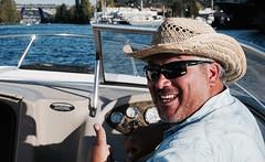 A Leisurely Cruise (cameronalvarado) Tags: lake union washington seattle pnw pacificnorthwest lakeunion city cityscape boatride gasworks gasworkspark houseboats kyaking kyak sailing boating