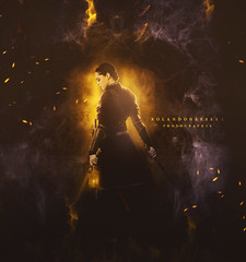 The Fire (rolansphotographyec) Tags: manipulation fire design yellow landscape