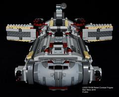 Star Wars LEGO 75158 Rebel Combat Frigate (KatanaZ) Tags: starwars lego75158 rebelcombatfrigate ezrabridger agentkallus ahsokatano commandersato chopper lego rebels minifigures