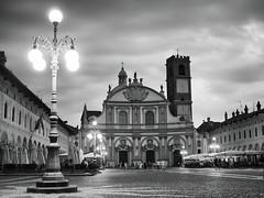 Vigevano - Square (fra_m88) Tags: city street church square italy sun vigevano blackwhite landscape love passion artist beautiful beauty sunset summer sunrise clouds sky