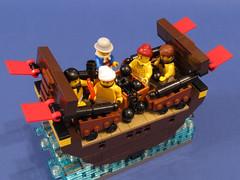 09 (PigletCiamek) Tags: lego masterandcommander aubrey maturin
