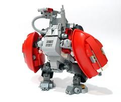 Duplon Marauder 02 (chubbybots) Tags: lego duplo mech
