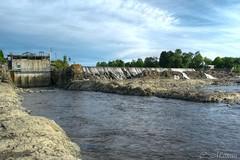 160809-20 Barrage de Montmagny (clamato39) Tags: montmagny provincedequbec qubec canada barrage daim river water eau ciel sky riviredusud