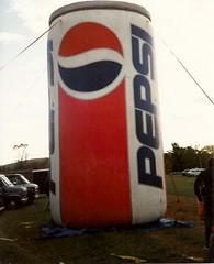 Balloon Fest (railynnelson) Tags: balloonfest hotairballoon harrisburg pennsylvania 1990 pepsi