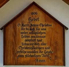 Gebed uit 1806. (limburgs_heksje) Tags: duitsland deutschland germany schwarzwald zwartewoud black forest laufenburg