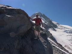 Marc at Tie In Rock (mmcg6302) Tags: mount hood oregon cooper spur hiking