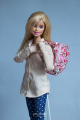 bag for dolls / on order (olgabrezhneva) Tags: doll dream  portrait barbie yoga made move madetomove barbiedoll mattel people model outfit haute couture fashion handmade shoes 16 scale playscale miniature miniatur bags taschen handbags creations store animal print tag game