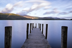 Derwent Water Jetty (Northern Tony) Tags: lake lakedistrict canon canon7dmarkii water jetty 10stopper leefilters niksoftware vivezza2 colourefexpro derwentwater early earlymorning