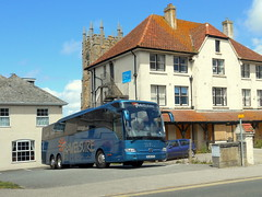 Travelsure Mercedes-Benz Tourismo (miledorcha) Tags: travelsure belford patterson northumberland north east bj16kyh mercedes benz merc mercedesbenz tourismo tri axle triaxle integral coach coaches travel holidays tours touring newquay cornwall psv pcv