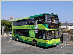 Southern Vectis 1116, West Street, Ryde (Jason 87030) Tags: bembriddgeledge southernvectis green scania omnicity doubledecker ryde 37 church canon 2016 august holiday summer sunny iow island isleofwight uk england buses hw58ato