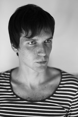 Dmitry (zabermach.digital) Tags: nikon d600 nikkor 85mmf18d digital rawtherapee portrait bw blackandwhite dof