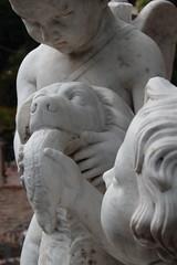 Cherubs (gorrarroja) Tags: valencia spain espaa jardn garden sculpture escultura cherub querubin