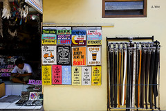 Street vendors (A. Wee) Tags: kuta bali  indonesia  shop street belt vendor
