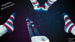 JackisGalaxyFeet (b0ndage_l0ve) Tags: feet füse toesocks zehensocken toes zehen socks socken galaxy thepose footfetish fusfetisch fetish fetisch jeans legs beine ass booty f00tl0v3r jacqueline barfus barefoot wallpaper hintergrundbild galaxie