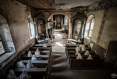 Church of Ghosts (Tobias Neubert Photography) Tags: kirche church lostplace urbex haunted spooky creepy geister ghosts geist ghost lukov mantn tschechischerepublik czechrepublic eskrepublika plzeskkraj
