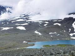 Gletscher (~janne) Tags: berge europa gewsser kamera schnee see umwelt wasser winter em1 environment europe lappland omd schweden sea water norrbottensln se