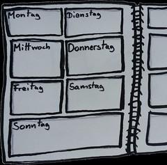 wochenkalender (o.tacke) Tags: sketch kalender calendar
