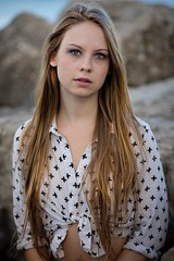(rebekkaweigand) Tags: photgraphy expression stare look eyes blondie portrait toronto model