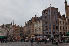 Bruges (JOAO DE BARROS) Tags: barros joo bruges belgium architecture square people street