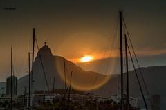 Urca - Rio de Janeiro (mariohowat) Tags: urca natureza prdosol entardecer fimdetarde riodejaneiro brasil brazil cristoredentor cidademaravilhosa