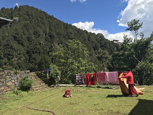 Second temple above Taktsang