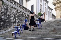Les Clandestines - Loin - Lontano (c) Henry Krul (Henry Krul) Tags: les austria la women strada singing henry migration graz loin krul 2012 straattheater streettheatre lontano clandestines