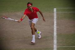 Roger Federer, Takumar 300/4 (mraposio) Tags: london takumar 300mm tennis olympics wimbledon smc manualfocus f4 federer 2012 screwmount isner canoneos5dmarkii