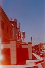 warner bros (BRE@NNE) Tags: california light tower water los tour angeles warner hollywood leak bros