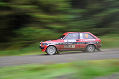 Scottish rally championship (Mark McKie) Tags: red car forest scotland src galloway forestroad rallycar machars gallowayforestpark wigtown wigtownshire blackloch