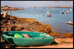 Chausey bateaux (Robert_Kincaid) Tags: mer nikon granville normandie 1855 manche iles pêche chausey d3100