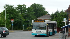 Bus Review - First day of route 479 Sunday service (bobsmithgl100) Tags: 2 bus station pointer rail surrey dennis dart slf bookham plaxton egk s101 greatbookham route479 ldp101 coachesexcetera s101egk