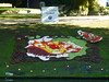 Le Papillon et la Fleur du Betuwe (The Butterfly and the Flower of the Betuwe) (Stefan Peerboom) Tags: mosaic mosaics 2012 mozaïk fruitcorso mazaïken