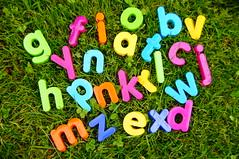 lesen toy plastic alphabet bunt schule buchstaben bildung lernen schulanfang