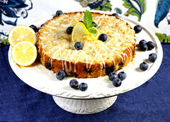 Lemon Cream Cheese Cake (IrishMomLuvs2Bake) Tags: food cake fun lemon desserts sweets lemoncreamcheesecake