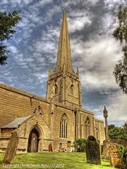 Lincolnshire Spire - Caythorpe (Daveyboy_75) Tags: church churches olympus spire hdr churchspire lincolshire caythorpe e450 lincolnshirespire caythorpechurch