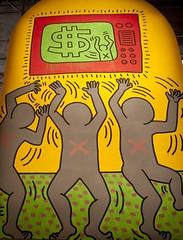 Keith Haring - The Ten Commandements [1984] (Andrea Sartorati) Tags: italy italia september settembre keithharing 2012 udine extralarge chiesadisanfrancesco thetencommandements