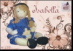 Isabella - 110 - (Luciana Dollsmaker) Tags: doll arte bambini rag serie ragdoll bambole gioco giocattoli hobbie stoffe artigianato cucito infanzia bamboledipezza bamboline hobbistica lavorifattiamano lucianadollsmaker