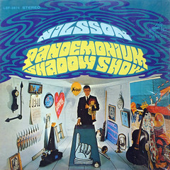 Pandemonium Shadow Show (epiclectic) Tags: nilsson 1967 epiclectic vintage vinyl record album cover art lp retro music sleeve collection jacket collage celo trombone french horn clock clown doll 1941