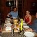 Na casa dos amigos sul-africanos Charles e Mari
