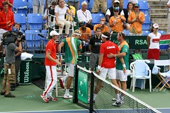 And Raonic won: Canada 2 - 0 South Africa (meriemly) Tags: canada southafrica montreal playoffs daviscup stadeuniprix coupedavis