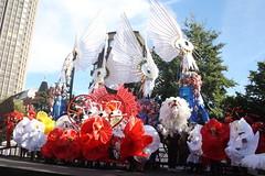 Thames Festival (2012): Bernie Spain Gardens 01 - Amas by Shademakers (KM's Live Music shots) Tags: greatbritain carnival brazil samba worldmusic thamesfestival paraders berniespaingardens amasbyshademakers